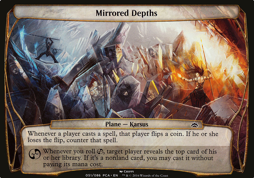 Mirrored Depths