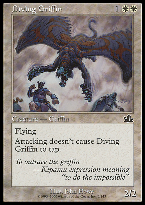 Diving Griffin