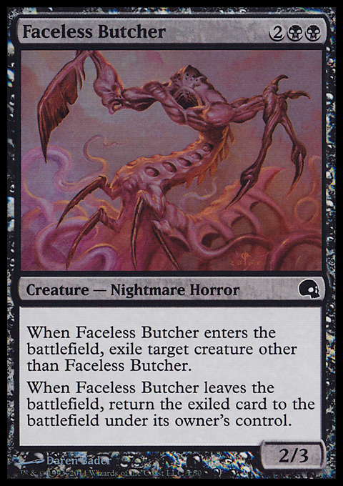 Faceless Butcher