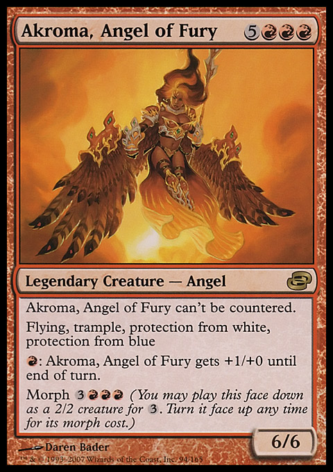 Akroma, Angel of Fury