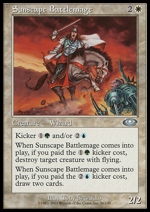 Sunscape Battlemage