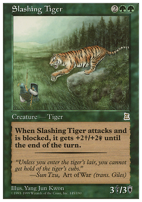 Slashing Tiger