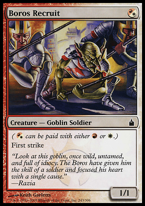 Boros Recruit