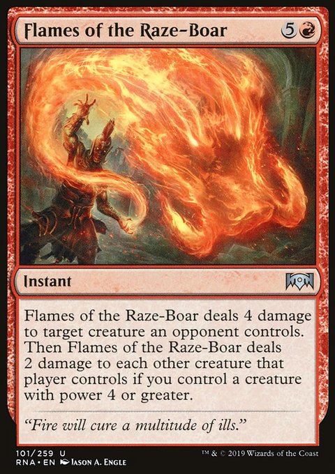 Flames of the Raze-Boar