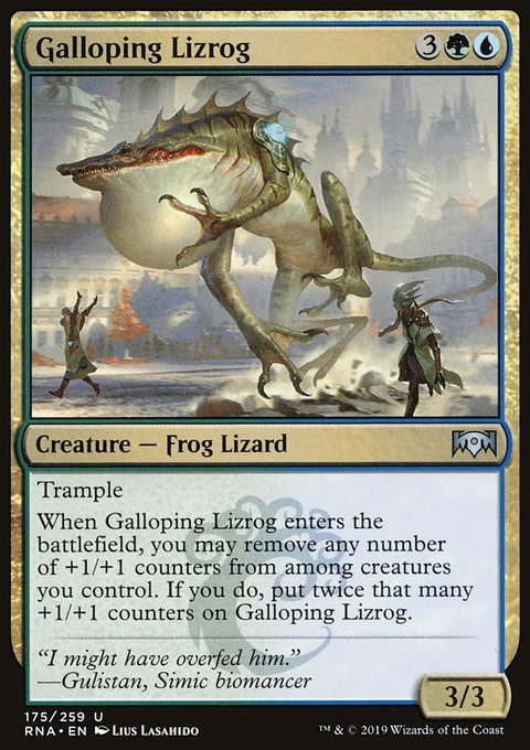 Galloping Lizrog