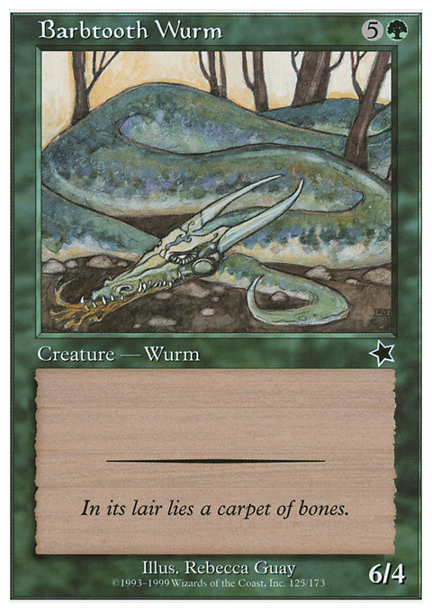Barbtooth Wurm