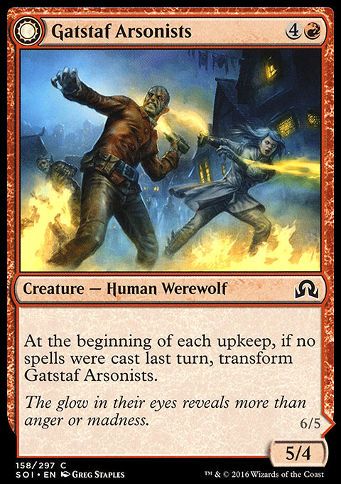Gatstaf Arsonists