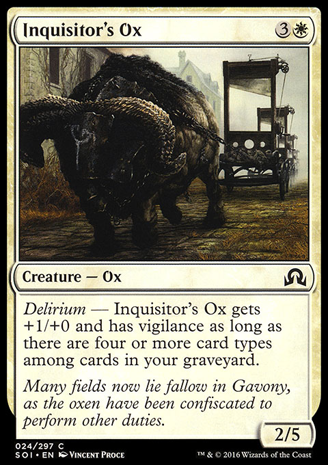 Inquisitor's Ox