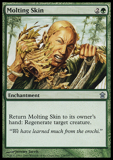 Molting Skin