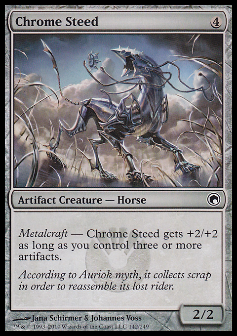 Chrome Steed