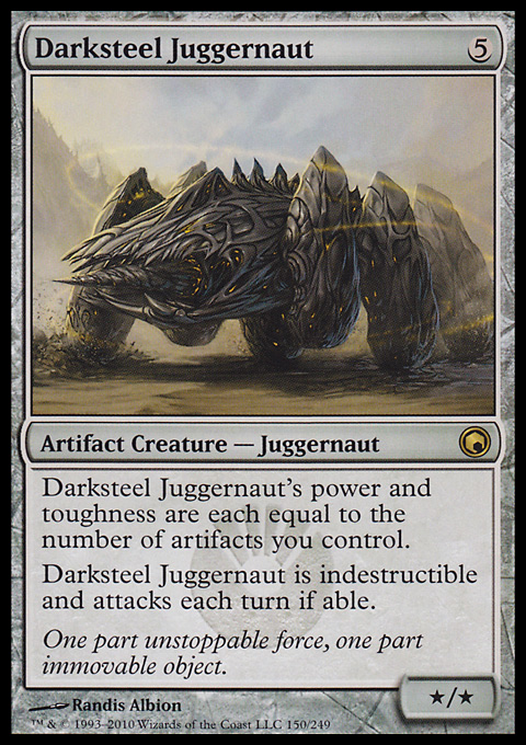 Darksteel Juggernaut