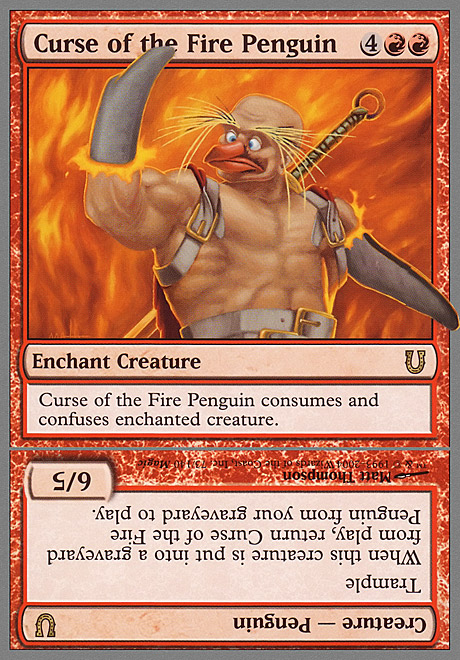 Curse of the Fire Penguin Creature