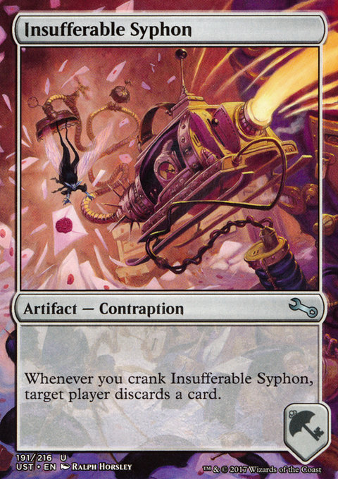 Insufferable Syphon