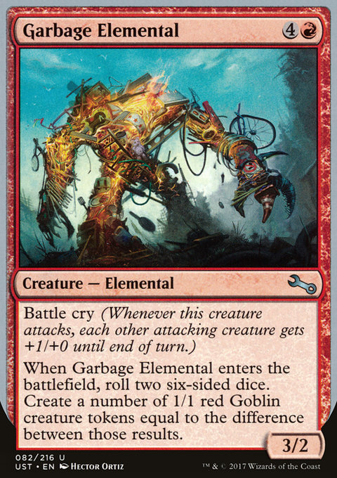 Garbage Elemental (c)