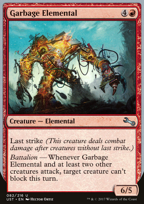 Garbage Elemental (f)