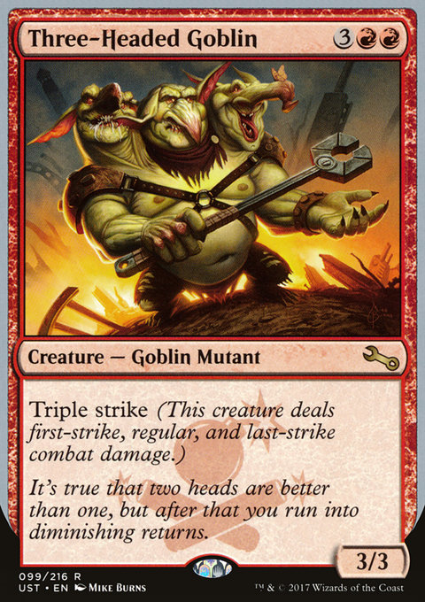 Three-Headed Goblin