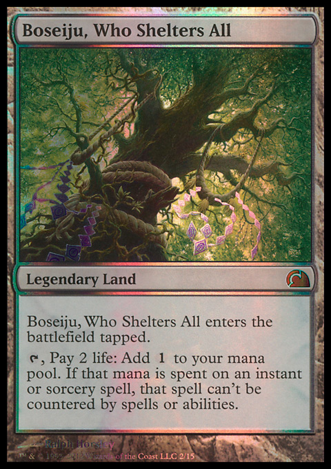 Boseiju, Who Shelters All