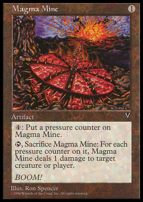 Magma Mine - mtg wtf