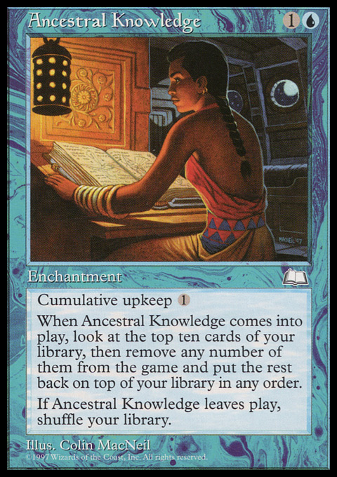 Ancestral Knowledge