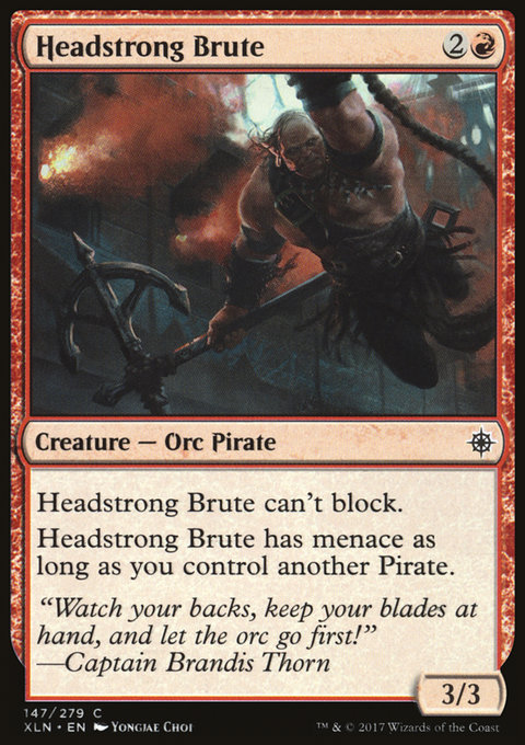 Headstrong Brute