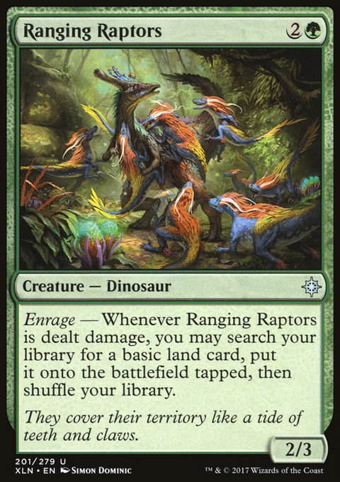 Ranging Raptors